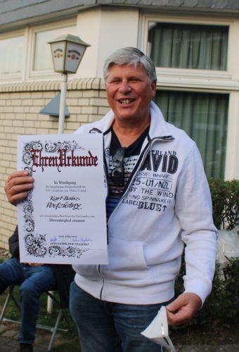 Karl-Heinz Podzielny 50 Jahre TSV-Mitglied