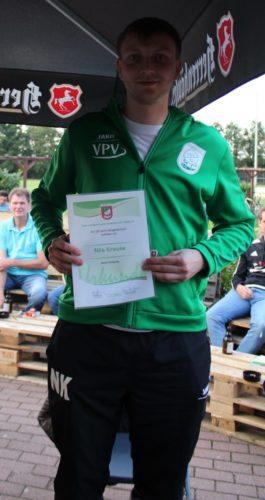 Nils Krause 25 Jahre TSV Mitglied